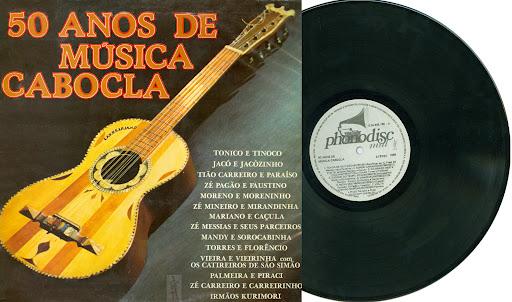 50 anos de m sica cabocla 1986 amantes da viola - Musica anos 50 americana ...